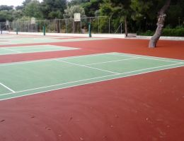 Renovation of Sports Facilities in Private School in Athens