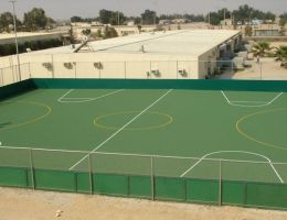 Sports courts in Multinational Force and Observers (MFO) campus (north and south), Sinai Peninsula, Egypt in cooperation with ISP Ltd.