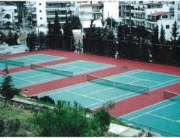 Δήμος Πετρούπολης: Συνθετικός τάπητας Cushion στον Όμιλο Αντισφαίρισης Πετρούπολης