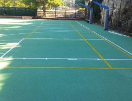 Renovation of Sports Facilities in Private College in Aghia Paraskevi / Athens