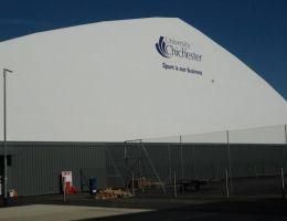Αγγλία: Κλειστό γυμναστήριο στο Chichester