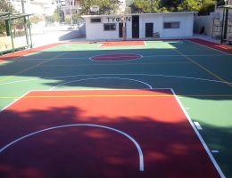 Γήπεδο μπάσκετ Τυφώνα Ν. Ηρακλείου