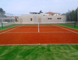 Sports facilities construction in a 5* Hotel in Chalkidiki, Greece