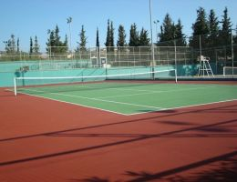Tennis court in luxurious hotel, Limassol, Cyprus in cooperation with Excelo Ltd