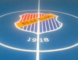 Basketball court in Neos Kosmos, Athens